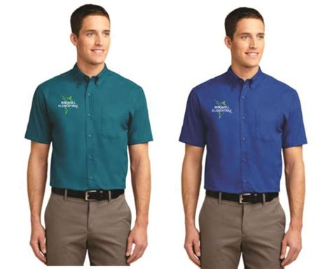 marshall staff  unisex short sleeve easy care