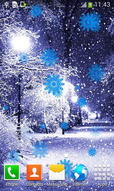 wallpaper for android winter winter live wallpapers best free android app android