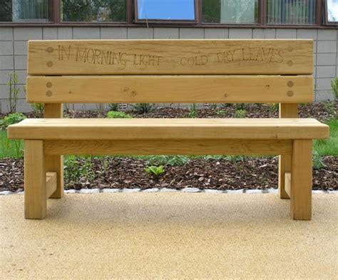 green oak bench natural fsc green oak double back bench chris nangle