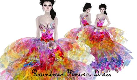 light in the box flower dress reviews second marketplace rainbow flower dress