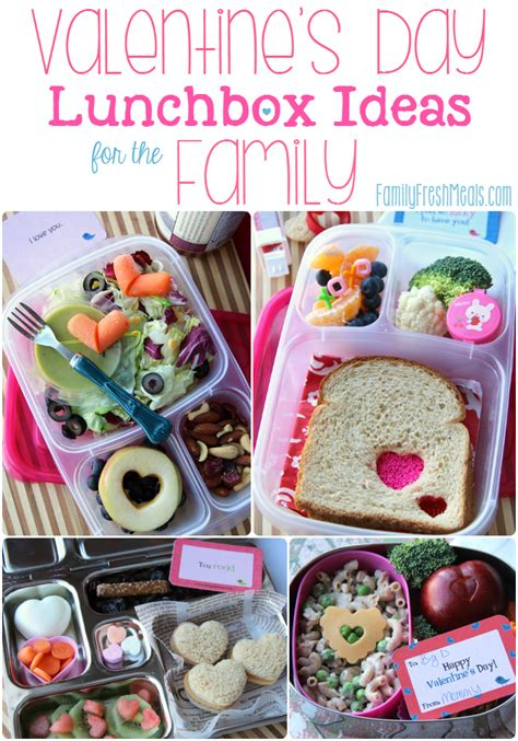 family valentines day ideas valentine s lunchbox ideas for the family family fresh meals