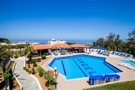 hotel angel village lygaria crete promovacances