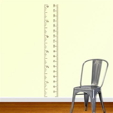 Ruler Wall Sticker by Sofa Ideas Ruler Wall Sticker Best Home Design Interior
