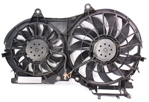 electric cooling fans  avk    audi   genuine