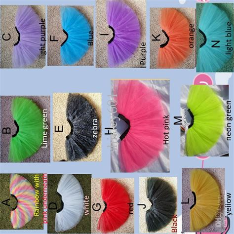 Mini 3layer 2017 wholesale tutus 3layer rainbow tutu mini