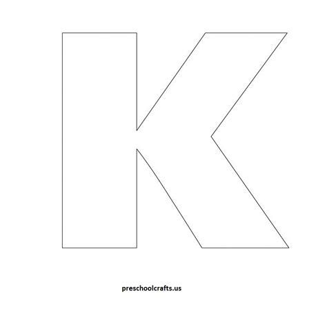 letter k template letter k template letter of recommendation