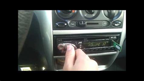 how to remove radio from a 2000 daewoo nubira daewoo matiz proste car audio youtube