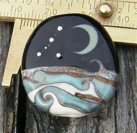 handmade lwork focal bead 115 best moon lwork focals images on