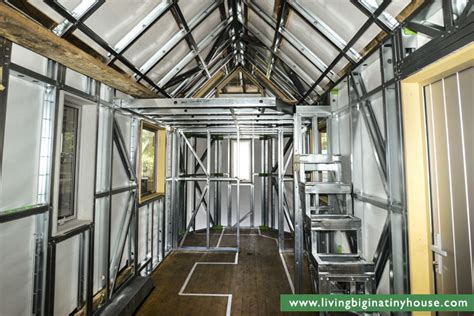Tiny House Frame by Our Tiny House Build Progress To Date Living Big In A