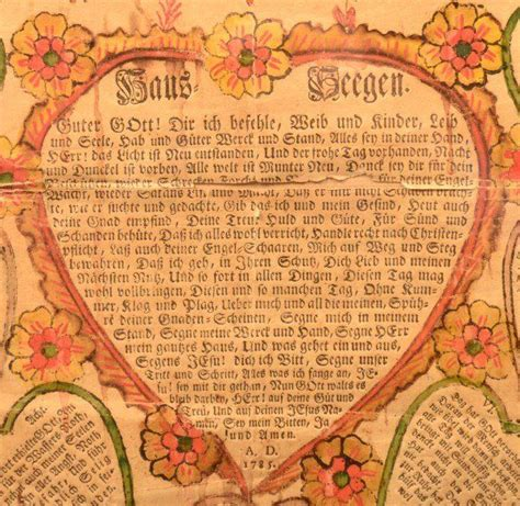 Wedding Blessing German by Pin By Snyder On Fraktur House