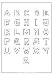 free printable coloring alphabet letters ausdruckbares