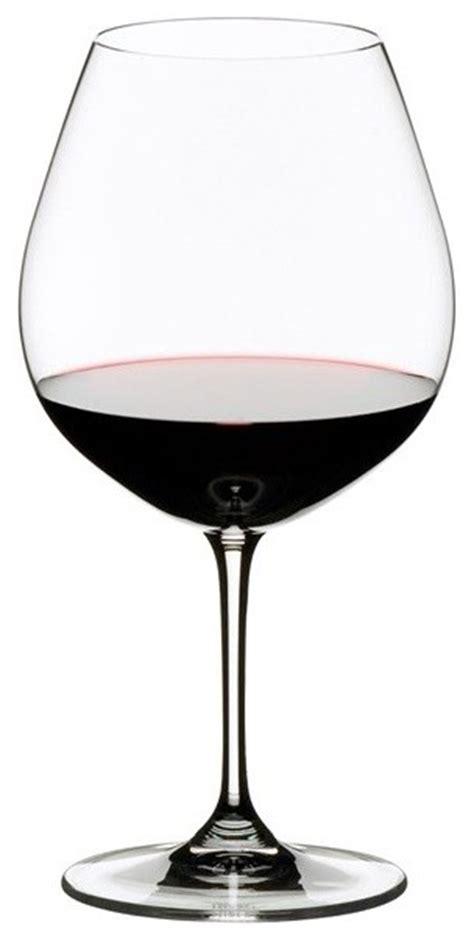 modern wine glasses riedel vinum series burgundy wine glass set 2 700ml