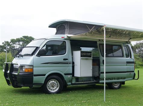 Toyota Hiace Conversions Toyota Hiace Automatic Discoverer Cervan With Air