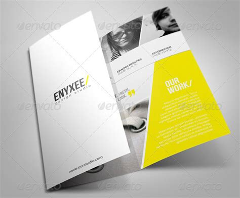 Unique Brochure Templates 50 useful tri fold brochure templates design