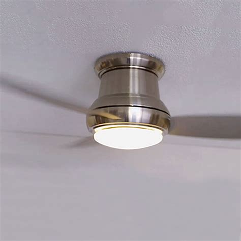 minka aire 44 inch ceiling fan minka aire concept ii brushed nickel 44 inch flush led