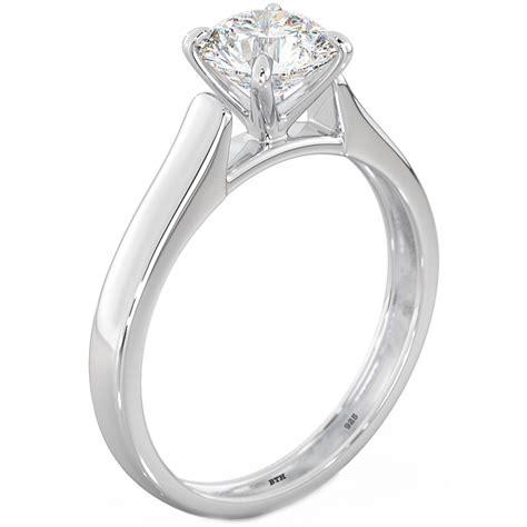 925 silver cubic zirconia cz solitaire wedding