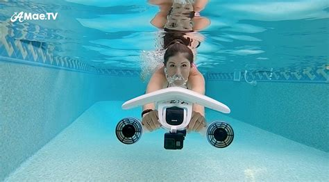 water scooter sublue filming with an underwater scooter whiteshark mix amaetv