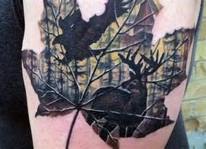 where to buy tattoo camo in canada leaf hunting tattoo for males bad ideas pinterest