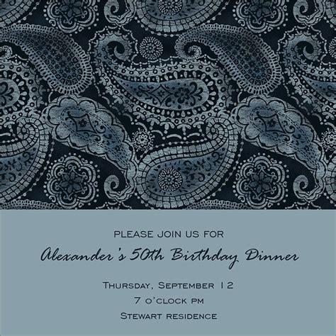 invitation design marietta paisley birthday invitation birthday invitations from