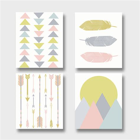 free printable wall art set boho decor dorm wall art modern art print set printable