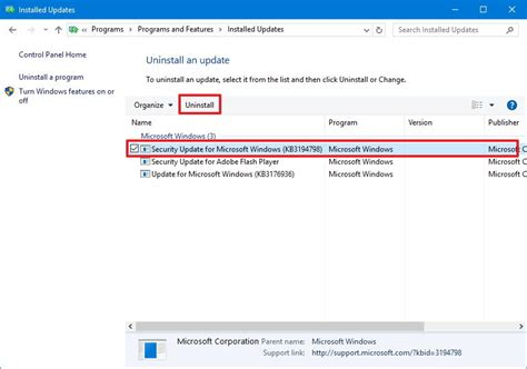 how to correctly uninstall updates in windows woshubcom how to uninstall and reinstall updates on windows 10