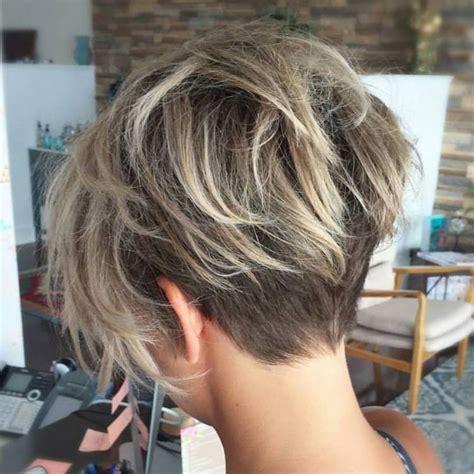 front and back views of chopped hair tend 234 ncias de cabelos curtos 2017 site de beleza e moda