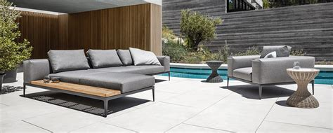 best selling outdoor furniture 2017 gloster grid curran