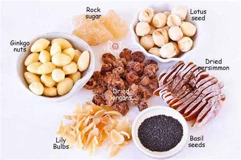 calories in lotus seeds leng chee kang sweet lotus seed soup roti n rice