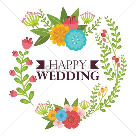 Wedding Vector Images Free by Happy Wedding Vector Image 1797282 Stockunlimited