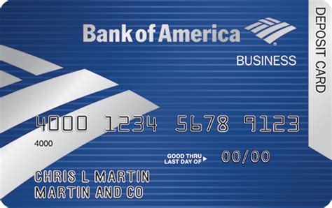 Bank Of America Business Card business debit card employee debit cards from bank of