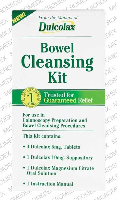 Dulcolax Detox dulcolax bowel cleansing kit