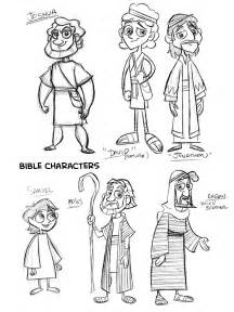Go Back &gt Gallery For Cartoon Bible Characters sketch template