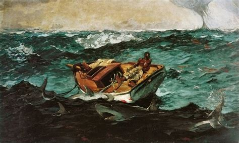 the open boat realism file winslow homer gulf stream jpg wikimedia commons
