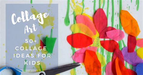 project collage template design projects collage ideas for 50 collage activities
