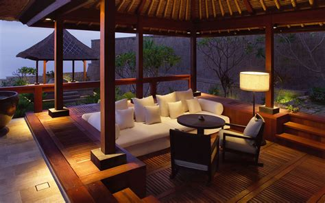 Hotel Upholstery by The Bulgari Villa A Balinese Cliff Top Paradise