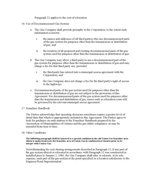 Franchise Manual Template Free by Model Franchise Agreement Ontario Free