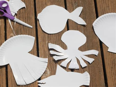How To Make Sea Animals Out Of Paper - paper plate sea animals by kiwi crate get steam stem