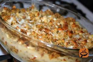 chicken stuffing casserole recipe with photos getmecooking