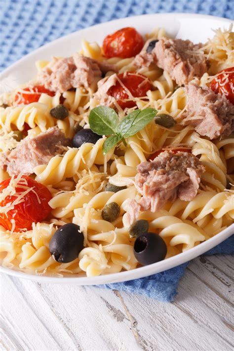 tuna pasta salad spicy tuna pasta salad slenderberry