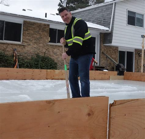 make a backyard rink 100 how to make a backyard rink this is the end
