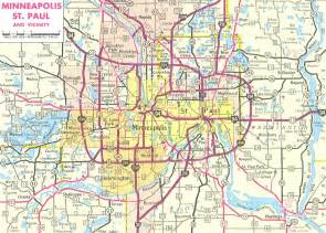 Twin Cities Metro Map by Map Of Twin Cities Metro Area Suburbs