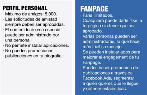a fan page c 243 mo convertir un perfil de en una fan page