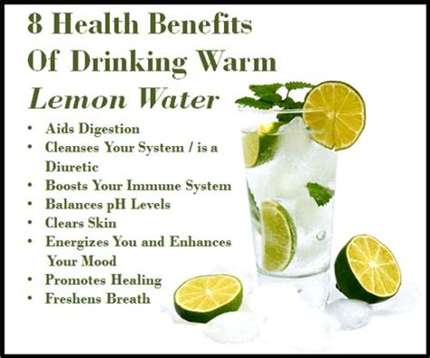 Warm Lemon Water Detox Benefits by Get Naturally Glowing Skin Washboard Abs Improved