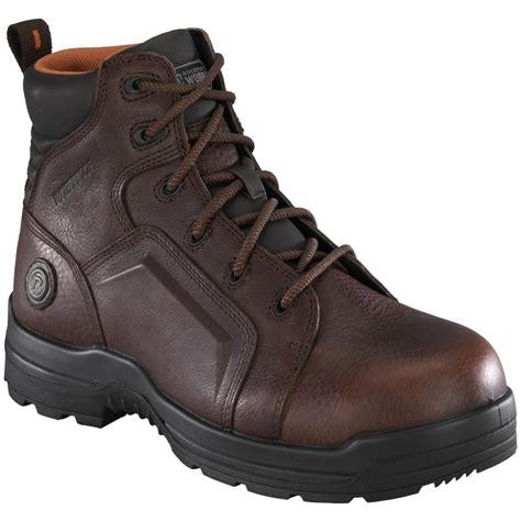 s rockport works rk6640 work boots brown 216015
