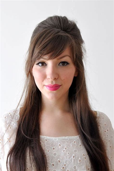 school hairstyles with fringe 52 best fringe hair styles images on make up