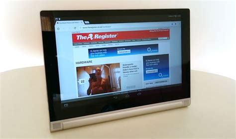 Lenovo Tablet 2 Android bendy but hangs lenovo tablet 2 10 inch android tab the register
