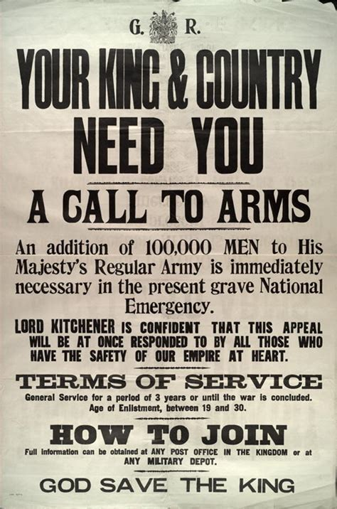 a call to arms epitaphs of the great war