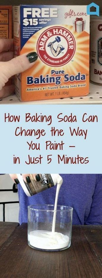 diy chalk paint baking soda are we the only ones who didn t this genius