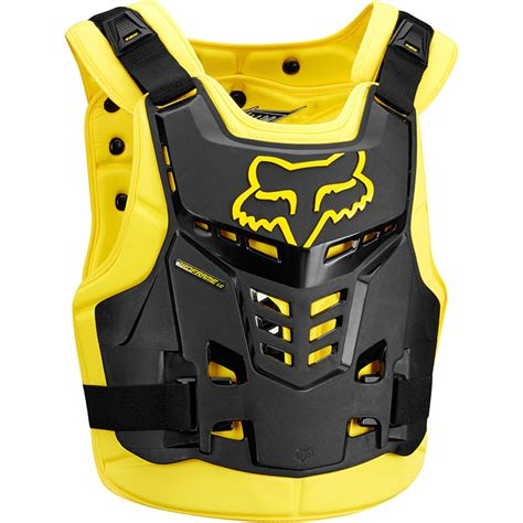 Fox Proframe Lc Black fox 2018 proframe lc black yellow armour at mxstore