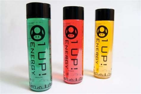 1 up energy drink gamer themed energy drinks 1 up mario themed